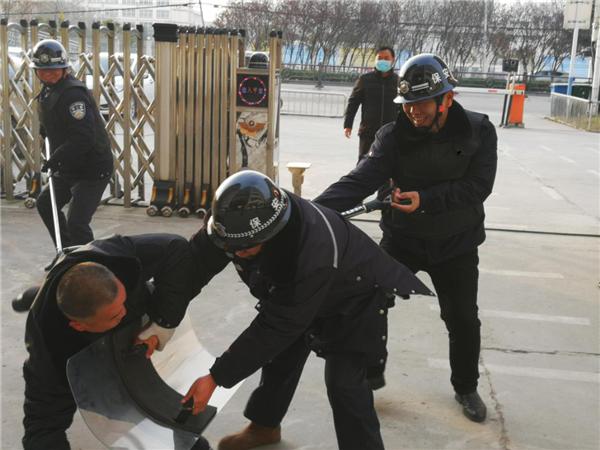 蒙城县特殊教育学校:开展反恐演练 筑牢安全防线